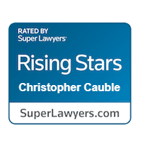 Christopher Cauble Super Lawyers logo